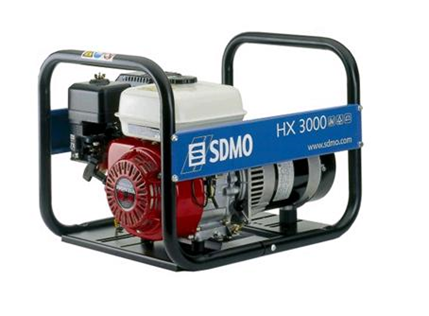 Kannettava generaattori 230V, 3kW, bensiini