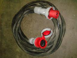 Pagarinātāja kabelis 125A, 3F, 20m