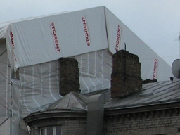 HA Keder katuse tent 2.57x26.5 m