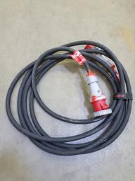 Pagarinātāja kabelis 63A, 3F, 10m