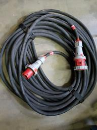 Pagarinātāja kabelis 63A, 3F, 40m
