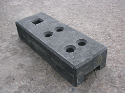 Recycling base, black (26.5kg)
