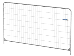 Mobile fence Round Top panel (3.5x2.0m)