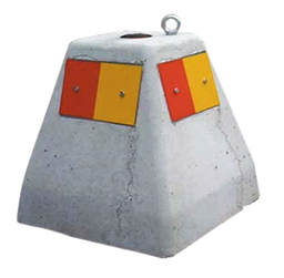 Mobile foundation, Concrete, 180 kg