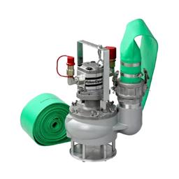 Hydraulic water pump, 1920 l/min , pipe 10 m