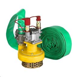 Hydraulic water pump, 840 l/min , pipe 10 m