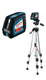 Laser level with tripod