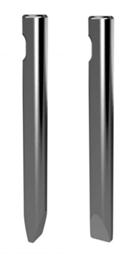 Plakanais kalts hidrauliskajam āmuram ar mini ekskavatoru CAT, 50mm