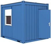Kontorscontainer, 10`