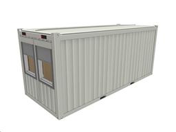 Moduļveida ofisa konteiners, 20`