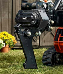 Vibratory plow for compact loader Ditch Witch