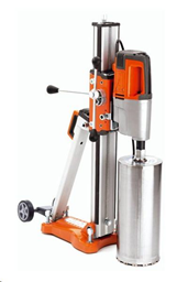 Diamond core drill with stand,2.7kW, d<350mm