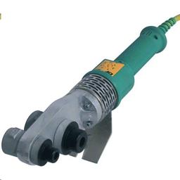 Plastmasas cauruļu lodamurs, d=20-25-32-40-50-63 mm, 220V