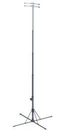 Apgaismes masta prožektors LED  8 m, 100W 220V