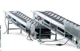 Mobile belt conveyor, 4,5m, 220V