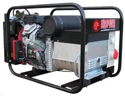 Генератор 230В, 10кВт, бензин