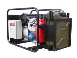 Генератор 230В/400В, 10,8кВт, бензин