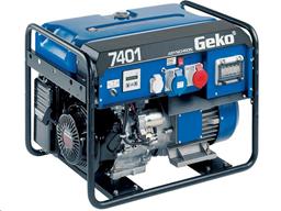 Генератор 230В/400В, 6кВт, бензин