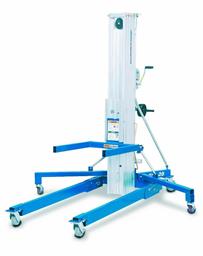 Material lift, 363kg, 4,98m