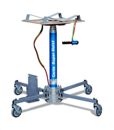 Material lift, 5,6m, 113kg, pneumatic