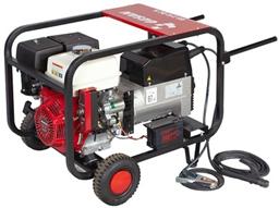 Ģenerators ar metināšanas iekārtu, benzīns, 230V/400V