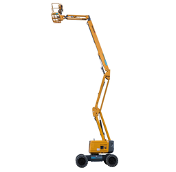 Rough-terrain articulating boom, hybrid (diesel/ battery), 4WD, 20,67 m