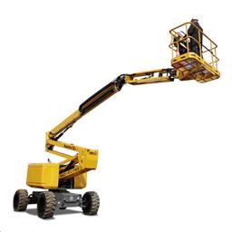 Rough-terrain articulating boom (diesel, 4 WD), 20m