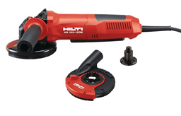 Angle grinders, d=125 mm, 230V (grinding hood with dust suction)