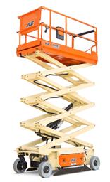 Šķērveida pacēlājs ar platformu ( pašgājējs,  ar akumulatoru, 2 WD), 12m