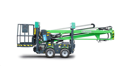 Tukijalallinen kuukulkija, pyöräalusta (diesel, 220v), 12,5m
