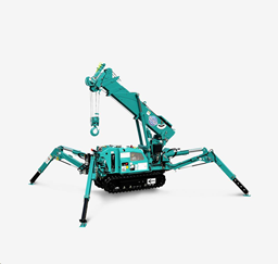 Spider minicrane, 1,7t, 5/5m