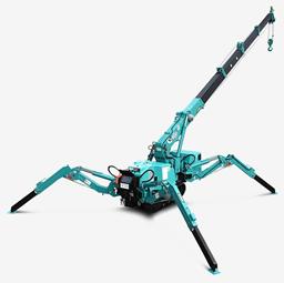 Spider minicrane, 2,8t, 8m