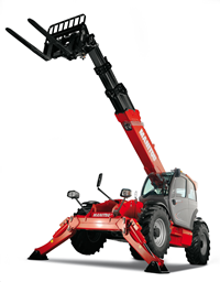 Telescopic handler, 18m, 4t