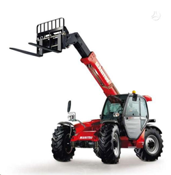 Telescopic handler, 7m, 3,2t