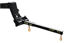 Aerial jib  for telescopic handler, 4000/1200kg