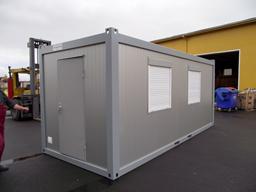 Moduļveida ofisa konteiners, 20`, H=2,8m