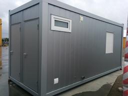 Moduļveida ofisa konteiners, 20`, H=2,8m (Poliuretāns) + WC