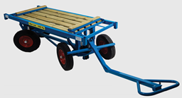 Plasterboard transport trolley, 1500 kg