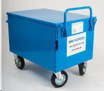 Containers for tools, on wheels, 464l.500kg
