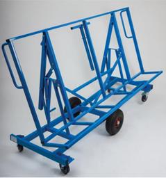 Ģipškartona transportēšanas riteņi, 500kg