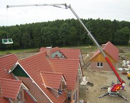 Trailer mounted crane, 1,6t, 31m
