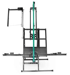 Leikkuri polystyreenille jalustalla, pituus 1370mm, paksuus 320mm, 230V