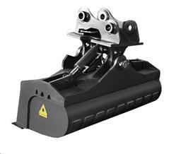 Планировочный ковш  Catterpilar 303-304/1200mm/hydr.