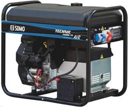 Benzīna ģenerators, 230V/400V, 11,5kW