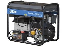 Pārvietojamais dīzeļģenerators, 230V/400V, 10kW