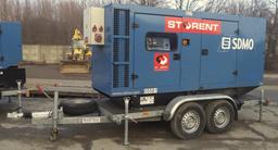 Dyzelinis generatorius, puspriekabė, 100kW
