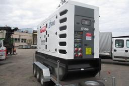 Puspiekabes dīzeļģenerators, 240kW, 24h