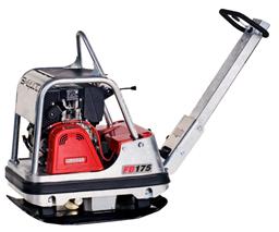 Plate compactor, 163 kg, diesel, reverse