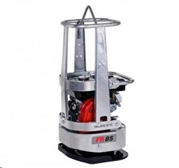 Round vibratory plate compactor, 88 kg, petrol