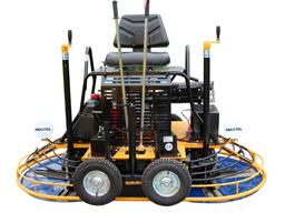 Double troweling machine, petrol, d=2x900mm